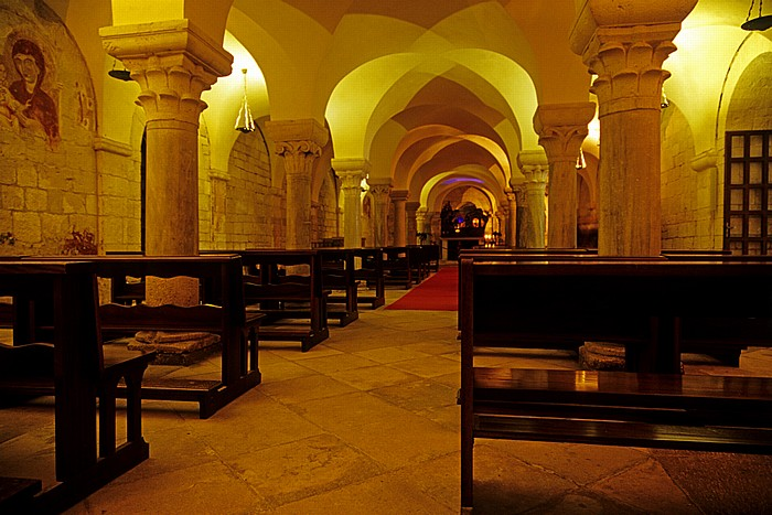 Trani Cattedrale di San Nicola Pellegrino: Santa Maria della Scala