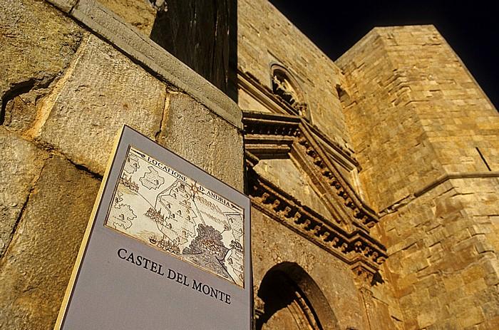 Andria Castel del Monte: Eingangsportal