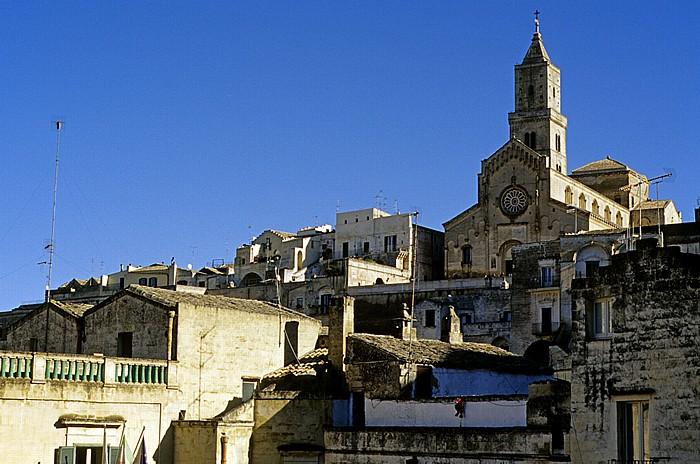 Matera Sasso Barisano, Cattedrale della Madonna della Bruna e di Sant' Eustachio