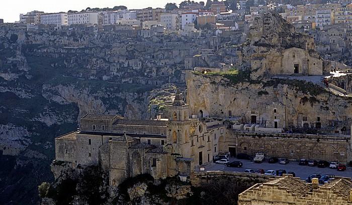 Matera Sasso Caveoso Chiesa dei Santi Pietro e Paolo Chiesa di Santa Maria di Idris Gravina di Matera