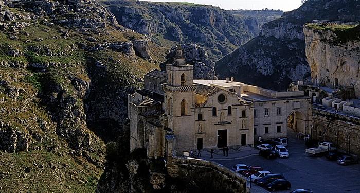 Matera Sasso Caveoso: Chiesa dei Santi Pietro e Paolo (Chiesa di San Pietro Caveoso) Gravina di Matera