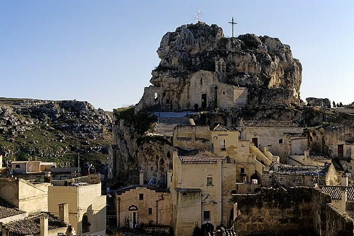 Matera Sasso Caveoso: Chiesa di Santa Maria di Idris Gravina di Matera