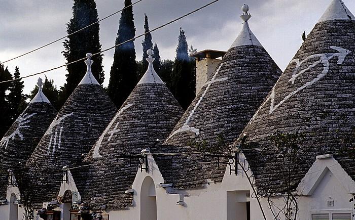 Alberobello Kegelbauten (Trulli)