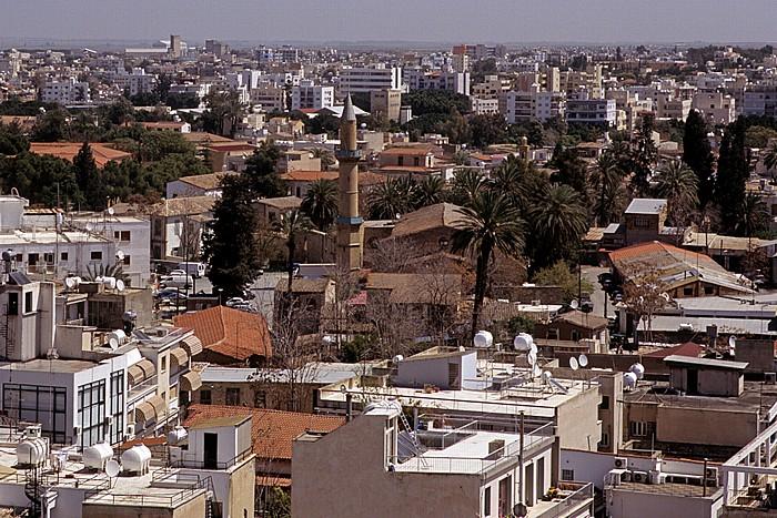 Nikosia Griechische Altstadt: Blick vom Shakolas-Turm: Omeriye-Moschee
