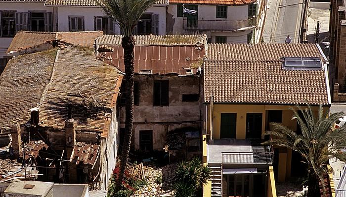 Nikosia Griechische Altstadt: Blick vom Shakolas-Turm