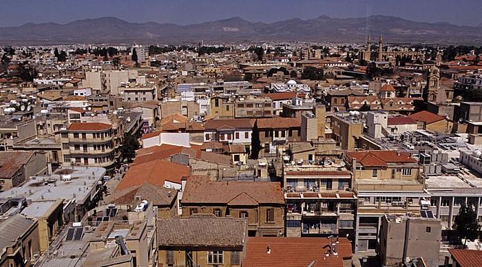 Nikosia Griechische Altstadt: Blick vom Shakolas-Turm in Richtung Norden