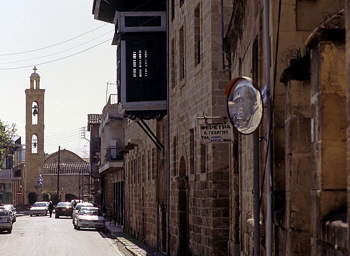 Nikosia Griechische Altstadt: Patriarch-Grigorios-Straße Agios-Antonios-Kirche Haus des Hadji Georgakis Kornesios