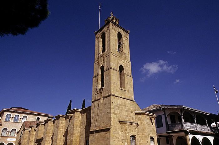 Nikosia Griechische Altstadt: Orthodoxe Johannes-Kathedrale Byzantinisches Museum Museum für Volkskunst