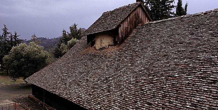 Lagoudera Troodos-Gebirge: Scheunenkirche Panagia Arakiotissa