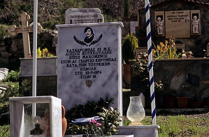 Spilia Troodos-Gebirge: Friedhof