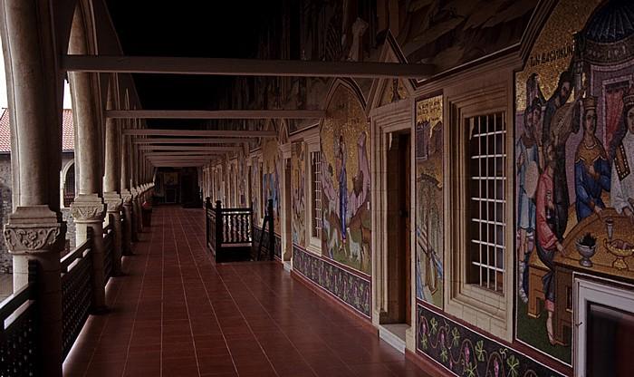 Troodos-Gebirge: Kykkos-Kloster: Mosaiken