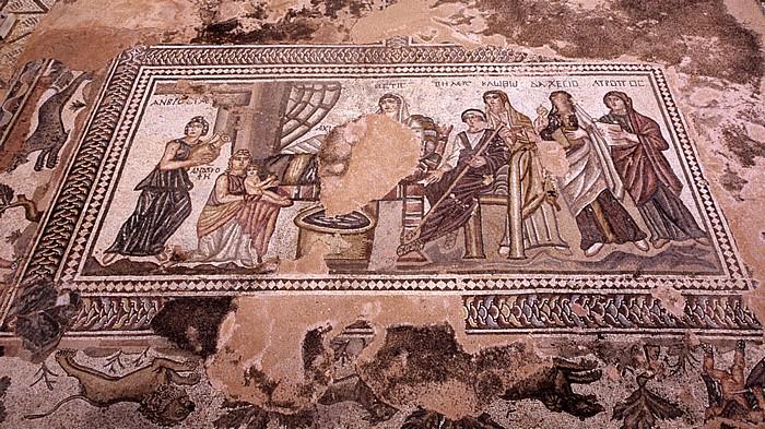 Paphos Archäologischer Park: Mosaik