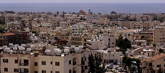 Paphos Andrea Ioannou: Blick auf Stadt und Mittelmeer