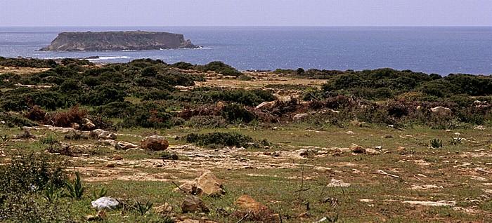 Peyia Mittelmeer, Küste