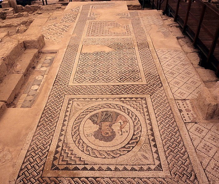 Kourion Ausgrabungsstätte: Haus des Eustolios: Mosaiken