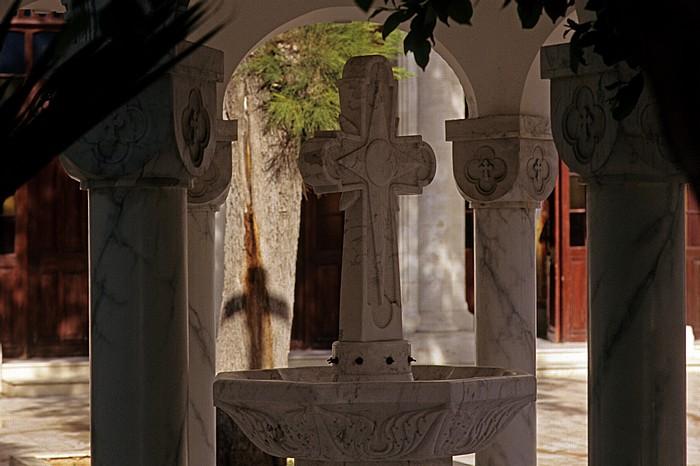 Limassol Griechisch-orthodoxe Kirche Agia Napa: Vorhof