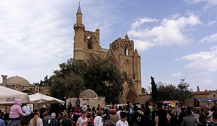 Famagusta Namik-Kemal-Platz, Lala-Mustafa-Moschee (Agia Sofia, ehem. St.-Nikolaus-Kathedrale)