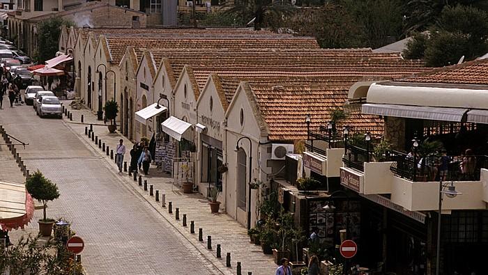 Famagusta Blick vom Seetor: Liman Yolu Sokak