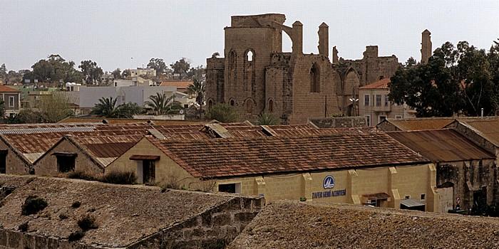 Famagusta Blick vom Seetor: St. Georg der Griechen