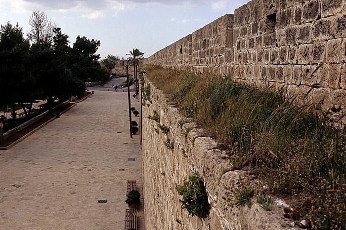 Famagusta Blick vom Seetor: Stadtbefestigung