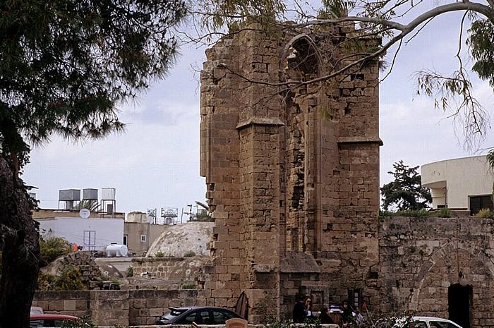 Famagusta Ruine des Franziskanerklosters