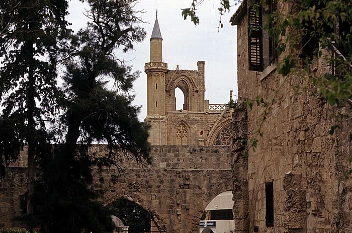 Famagusta Palazzo del Provveditore (Palast des venezianischen Militärgouverneurs) Lala-Mustafa-Moschee