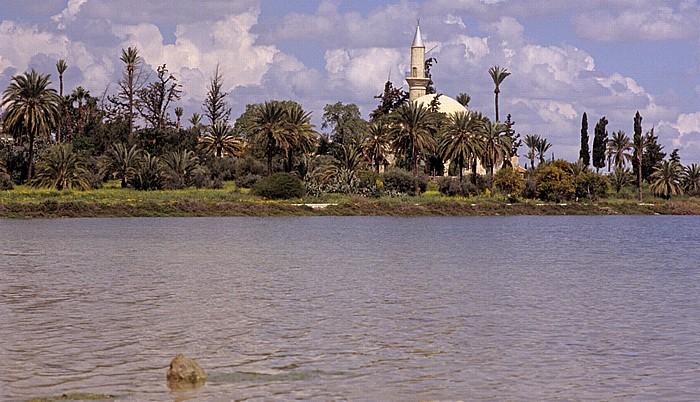 Larnaka Salzsee, Moschee Chala Sultan Tekke