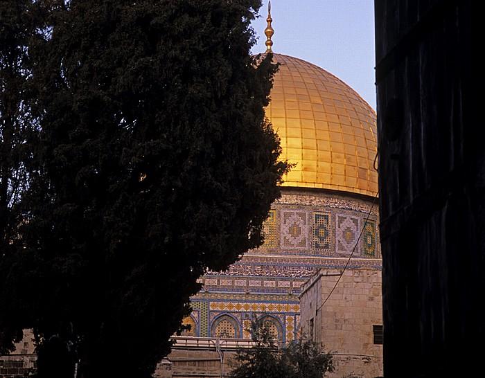 Altstadt: Tempelberg: Felsendom Jerusalem