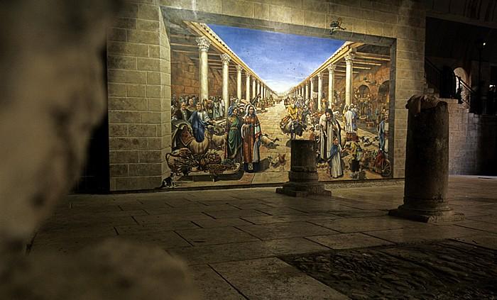 Altstadt (Jüdisches Viertel): Cardo Maximus Jerusalem