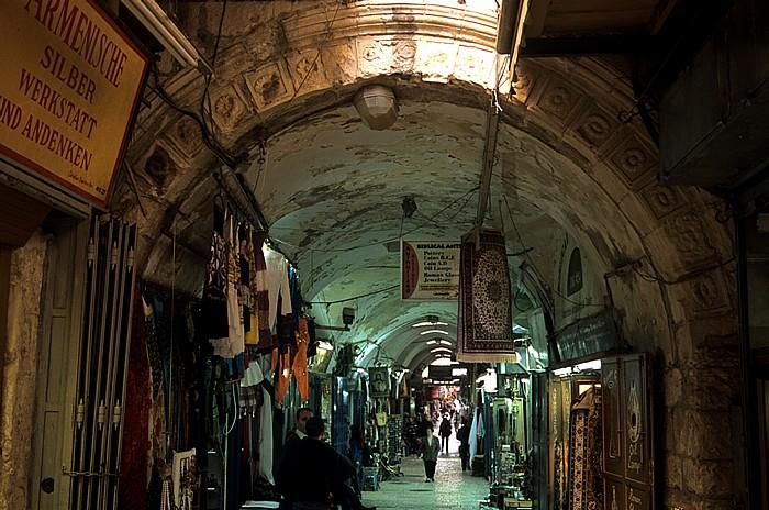 Altstadt (Christliches Viertel): Suq Al-Aqbat Jerusalem