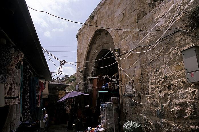 Altstadt (Christliches bzw. Muslimisches Viertel): Damaskustor Jerusalem