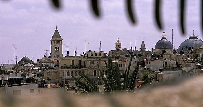 Jerusalem Altstadt (Christliches Viertel) Erlöserkirche Grabeskirche