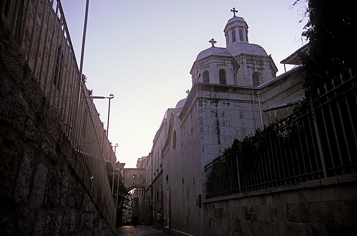 Jerusalem Altstadt (Muslimisches Viertel): Verurteilungskapelle an der Via Dolorosa