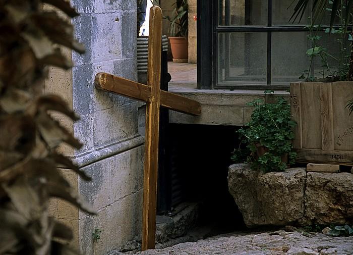 Jerusalem Altstadt (Muslimisches Viertel): Via Dolorosa Geißelungskapelle Verurteilungskapelle