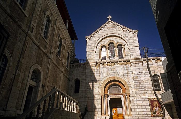 Jerusalem Altstadt (Muslimisches Viertel): Armenische Kirche Notre Dame an der Via Dolorosa