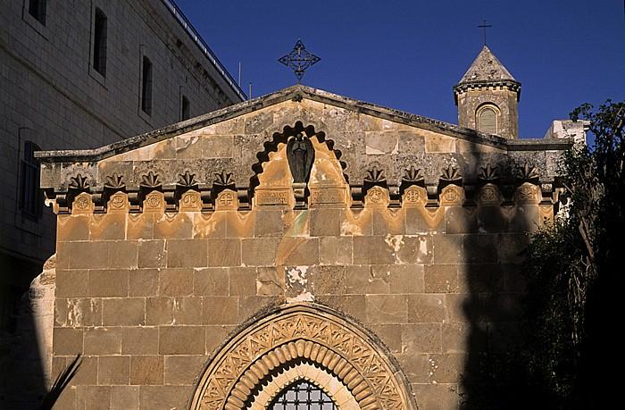 Jerusalem Altstadt (Muslimisches Viertel): Geißelungskapelle an der Via Dolorosa
