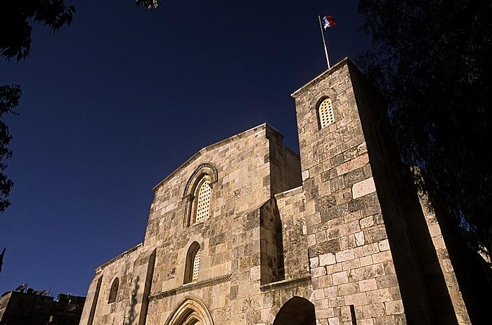 Altstadt (Muslimisches Viertel): Bethesda - St.-Anna-Kirche (St.-Annen-Kirche) Jerusalem