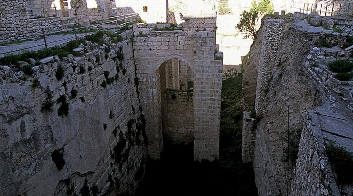 Altstadt (Muslimisches Viertel): Bethesda - Zisterne Jerusalem