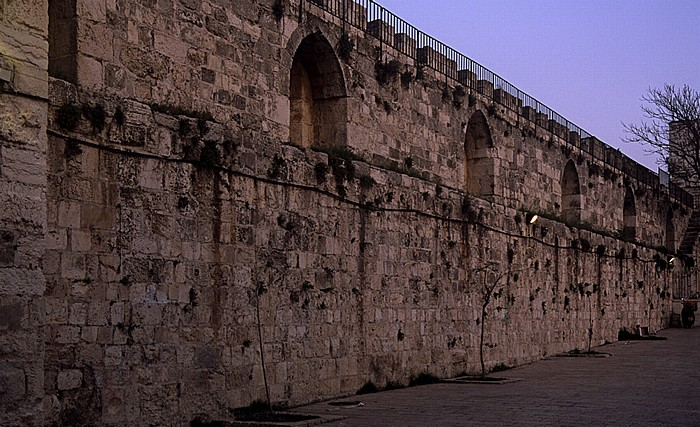 Altstadt (Muslimisches Viertel): Bab Al Huta Jerusalem