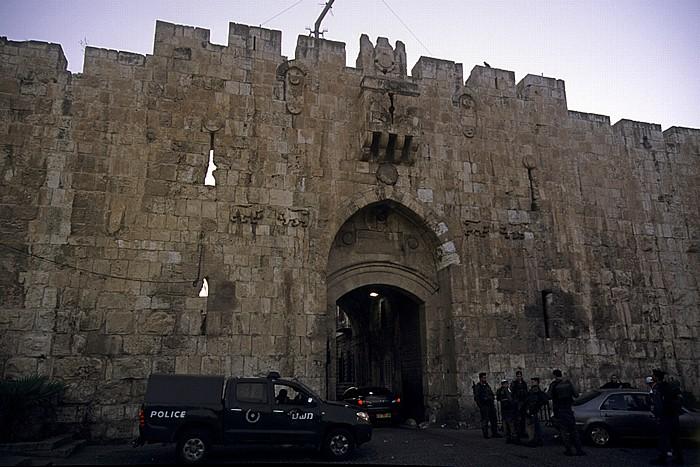 Altstadt (Muslimisches Viertel): Löwentor (Stephanstor) Jerusalem