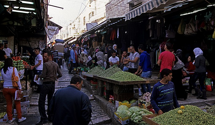 Jerusalem Altstadt (Muslimisches Viertel): Suq