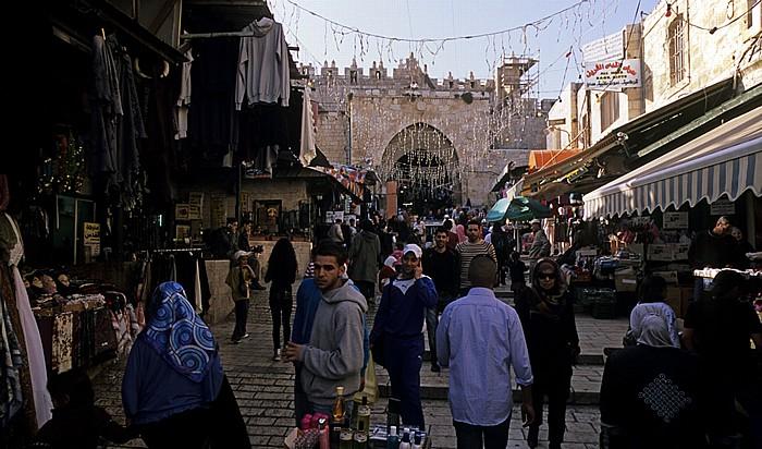 Altstadt (Muslimisches Viertel): Suq Jerusalem