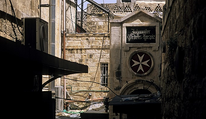 Altstadt (Muslimisches Viertel): Johanniter-Hospiz Jerusalem