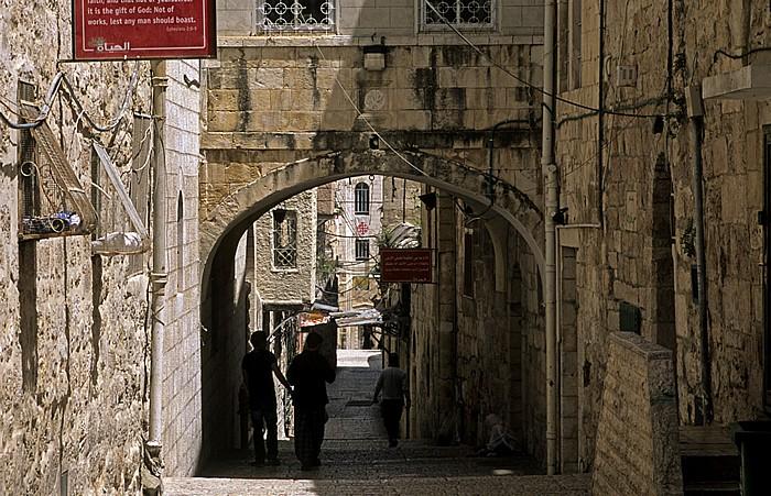 Altstadt (Christliches Viertel): Saint Francis Road Jerusalem