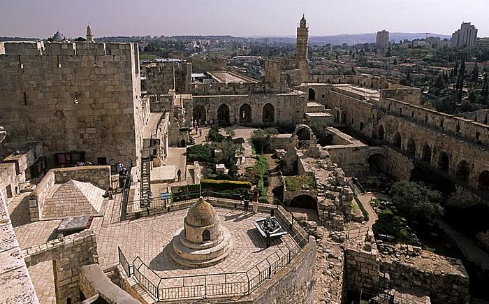 Altstadt (Armenisches Viertel): Davidszitadelle Jerusalem
