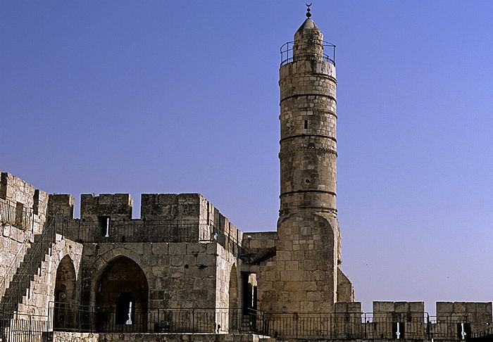 Altstadt (Armenisches Viertel): Davidszitadelle - Davidsturm Jerusalem