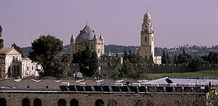 Altstadt (Armenisches Viertel): Blick von der Davidszitadelle Jerusalem