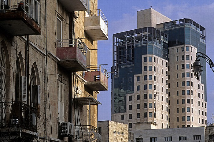 Downtown: Ben Yehuda Street Jerusalem