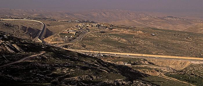 Blick vom Skopus (Mount Scopus): Westjordanland Jerusalem