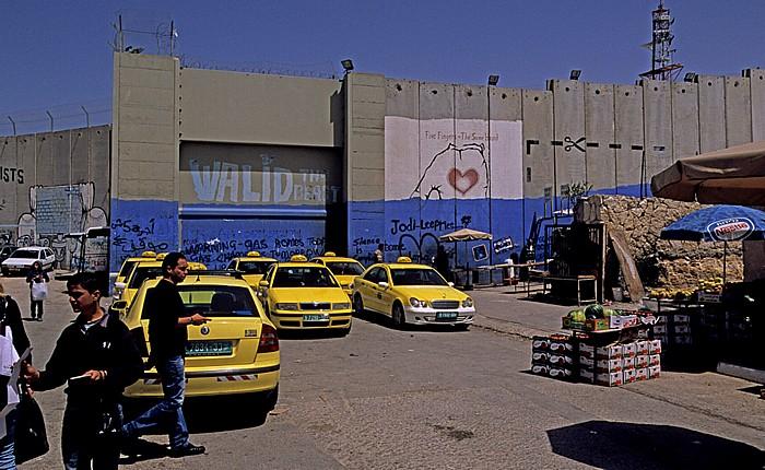 Bethlehem Israelische Sperranlage (Mauer)
